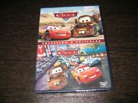 Cars 1 + Cars 2 DVD Disney Pixar Sigillata Nuovo