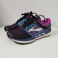 BROOKS Transcend 5 Womens Running Shoes Size US 9 EU 40.5 Casual Lace Up