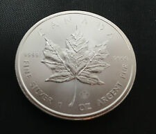 1 oz Maple Leaf 2014 999 Silber Silbermünze Bullion 5 CAD Royal Canadian Mint