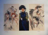 Pierre * : Jazz # Litografía Original Firmada Y Numerada #350ex