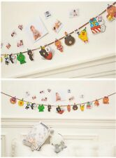 Line's Frds Party Paper Bunting Banner Flags Decoration Birthday Theme Kr style