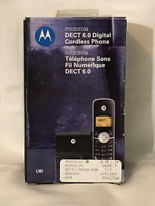 Motorola DECT 6.0 Cordless Phone Expandable, Black