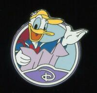 WDW Mystery Circle Icon D Donald Duck Disney Pin 88458