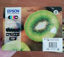 Genuine Epson 202 Multipack Kiwi Ink C13T02E74010 for XP-6000 XP-6005