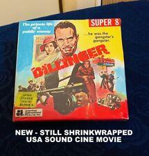 DILLINGER - SUPER 8mm QUALITY Original USA Colour Sound Movie NEW Shrinkwrapped