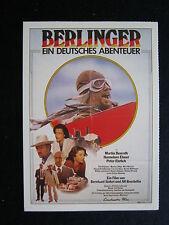 Filmplakatkarte cinema   Berlinger