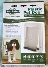 New listing New PetSafe Plastic Pet Door - Small 1-15 lb, 5 1/8 x 8 1/4 Opening Ppa00-10958