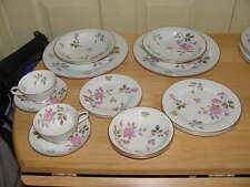Noritake 5475 China 2 - 7 Piece Place Settings Cup Saucer Plate Soup Bowl Roses