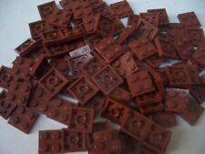LEGO 50 2 x 2 marrone Piastre Nuovo