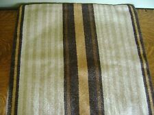 Williams Sonoma Ithaca Stripe Woven Pillow Cover Brown Tan ~ NEW, SOLD OUT@W.S.