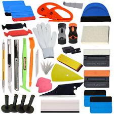 PRO Car Wrap Vinyl Tools Kit Scratch-free Squeegee Scraper Razor Glove 4 Magnets