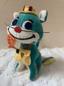 RARE BLUE VARIATION! Vintage Dakin Dream Pets Fish n' Chips Kitty Cat #1280 NOS