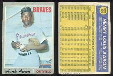 (32849) 1970 Topps 500 Hank Aaron Braves-FR