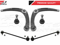 FOR PEUGEOT 307 FRONT LOWER SUSPENSION WISHBONE ARMS BALL JOINTS ANTI ROLL LINKS