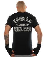 Kronk Boxing Men's Thomas Hearns training camp boxing T Shirt Black