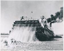 """U S A c. 1950 - Bateau  Roues à Aubes """"Sprague"""" Mississippi River - Div 11220"""
