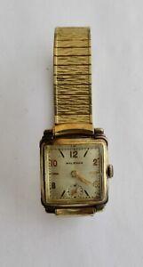 Vintage WALTHAM Gold Filled Wristwatch~~Mechanical Mov't~~Running
