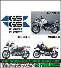 kit adesivi stickers compatibili r 1150 gs 25 anniversary adventure edition