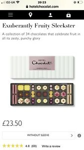 Hotel Chocolat Boxed Chocolates Assorted Birthday/Mothers Day/ Anniversary Gift