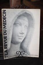 La Revue du Médecin - N° 3 - 1937 - Concorde - J.G. Domergue - 3 Glorieuses