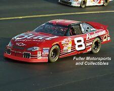 DALE EARNHARDT JR NO BULL 5 #8 BUD 2001 RICHMOND NASCAR WINSTON CUP 8X10 PHOTO