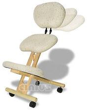Sedia ergonomica con schienale, marcata Cinius