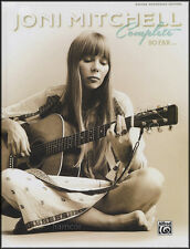 Joni Mitchell Complete So Far Guitar Songbook Edition HARDBACK OVER 500 PAGES