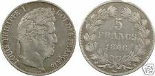 Louis-Philippe I, 5 francs Domard 3e type, 1846 K = Bordeaux - 4