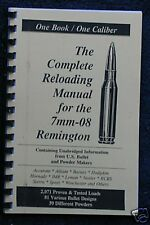 7mm-08 Remington Reloading Manual LOADBOOK USA Latest Edition NEW