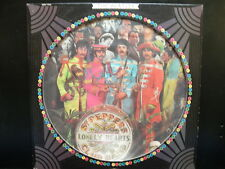 THE BEATLES SGT. PEPPERS RARE PICTURE DISC