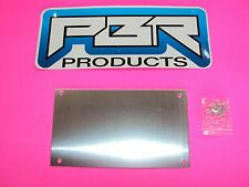 Yamaha Rhino Dash Center Blank Alum Cover Plate For Mounting Gauges GPS switchs