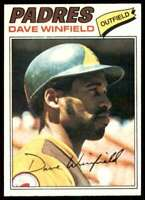 1977 Topps Dave Winfield San Diego Padres #390