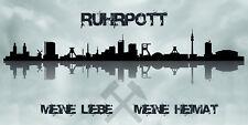 Bilder Wandbild Keilrahmen Leinwand Ruhrpott Ruhrgebiet Skyline Art. 501979