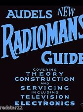 """Audels Radiomans Guide & Bible  on CD   """"HUGE MANUAL Covers Everything!"""""""