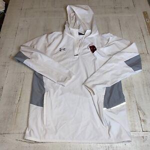 Under Armour Mens Medium Hooded 1/4 Zip Pullover Basketball