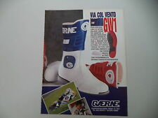 advertising Pubblicità 1991 GAERNE e WAYNE GARDNER