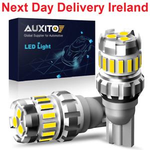 2x W16W T15 LED T16 Bulb Canbus Error Free Backup Reverse 921 912 LED Bulbs Car