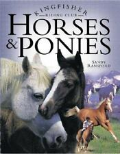 Kingfisher Riding Club: Horses and Ponies by Sandy Ransford (2001, Hardcover
