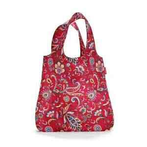 reisenthel mini maxi shopper paisley ruby AT3067 rot Schultertasche Beutel