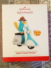 HALLMARK KEEPSAKE - PHINEAS AND FERB - BRAND NEW - AGENT P SAVES THE DAY -