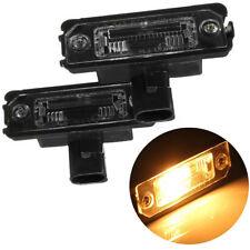 2 Pcs LED Number License Plate Light Lamp For VW Golf PASSAT MK4 MK5 MK6 Useful