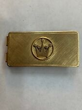 Gold Filled Money Clip Vintage Gorgeous Anson 12k Yellow