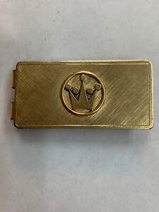 Vintage Gorgeous Anson 12k Yellow Gold Filled Money Clip