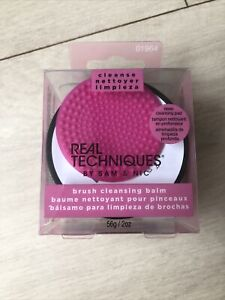 Real Techniques Brush Cleansing Balm with Deep Cleansing Pad for Makeup Brushes