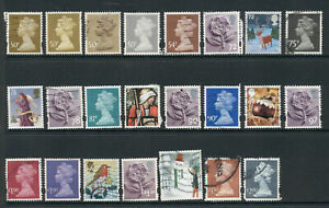Selection of United Kingdom Stamps - 50p > £2.00 - USED [7355]