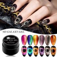 MTSSII 6 Boxes/set Magnetic 9D Galaxy Cat Eye Soak Off Gel Nail Polish Varnish