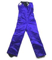 VTG Arctic Cat Purple Snowmobile Bib Snow Pants USA Made Thinsulate Women's S