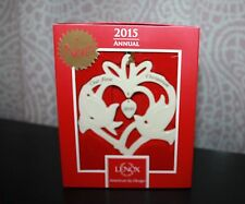 LENOX 2015 OUR FIRST CHRISTMAS TOGETHER DOVES ORNAMENT .... BRAND NEW IN BOX