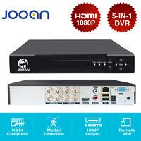 8CH 1080P HD-MI DVR NVR XVR Video Recorder 5-IN-1 ONVIF Security Camera System
