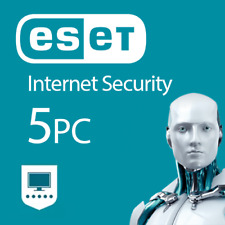 ESET Internet Security 2018 5 dispositivi 5 PC 1 anno 2017 PC MAC ANDROID KEY